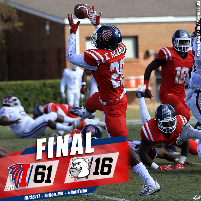 No. 20 ICC handles Holmes on Homecoming, 61-16