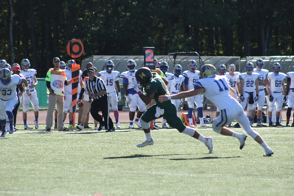 Fitchburg State Withstands Becker, 27-20