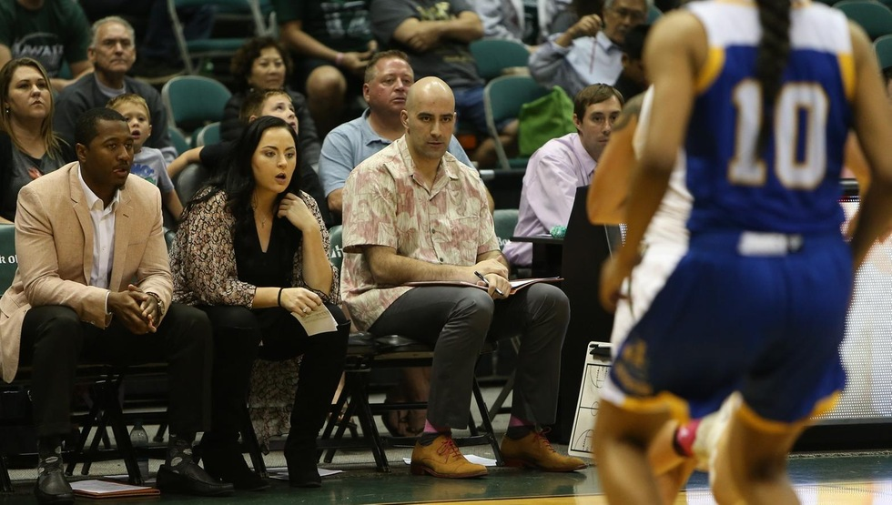 Alex Delanian joins the UCSB staff after four seasons at Hawaii and five at USC (photo courtesy of Hawaii Athletics)
