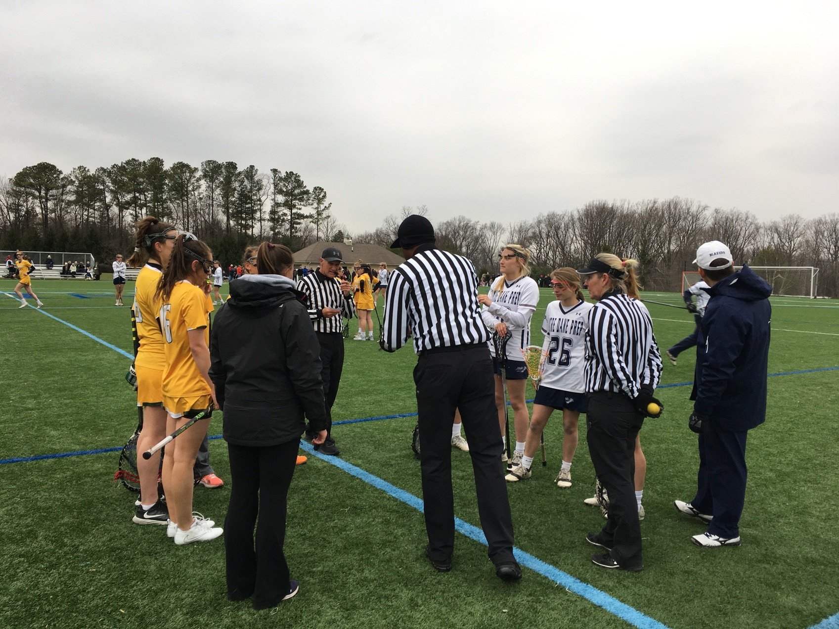 NDP lacrosse outlasts Bryn Mawr in OT