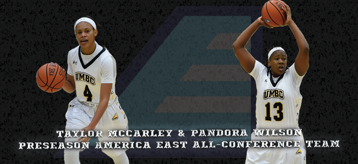 McCarley, Wilson Tabbed to America East Preseason All-Conference Team