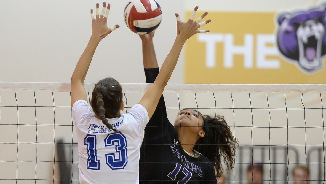 Freshman Rosa Reed-Bouley led the Bruins with 12 kills on .524 hitting.