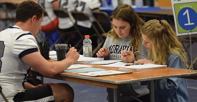 Moravian Registers 115 in 8th Annual Be The Match Bone Marrow Donor Registration Drive
