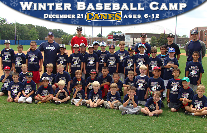 Youth Baseball  Winter Camp Announced