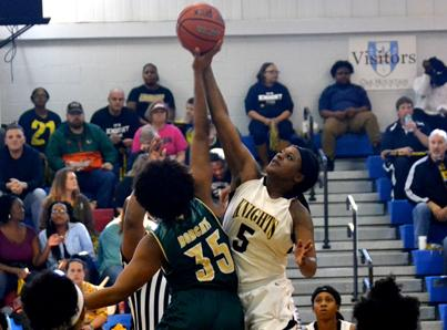 #6 WGTC women knock off DI East Georgia 55-40