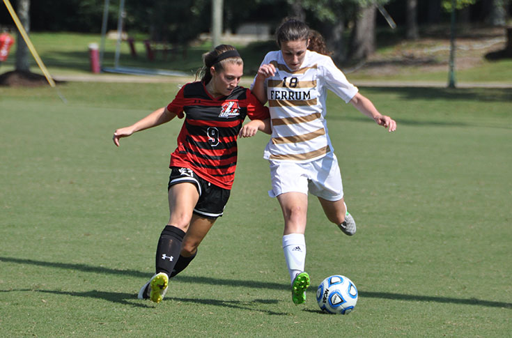 Women's Soccer: Sydney Aronson scores for Panthers in USA South match at Maryville