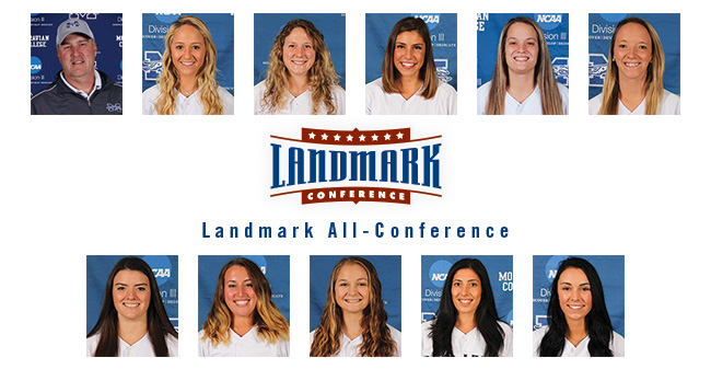 10 Greyhounds Earn Softball Landmark All-Conference Honors; Matos, Novak & Byrne Receive Major Awards