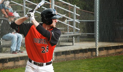 Pioneer Baseball Takes Down Corban