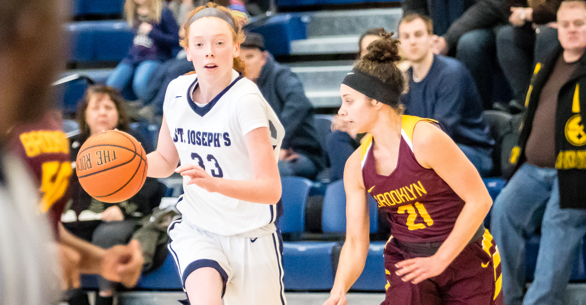 O'Donnell Posts Double-Double but Brooklyn Outlasts Women's Basketball