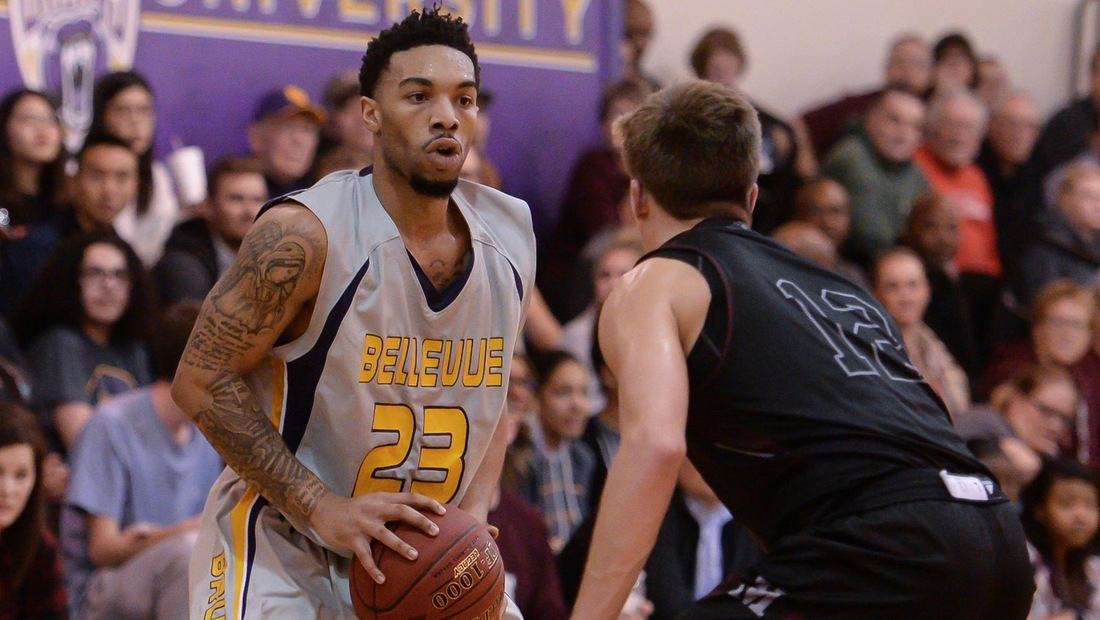 Jalen Hall scored 12 points and dished out a game-high six assists on Sunday