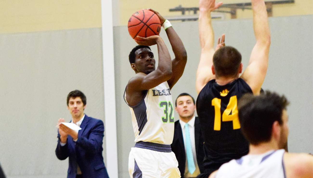 Hot Shooting Carries Men's Basketball Past Wentworth