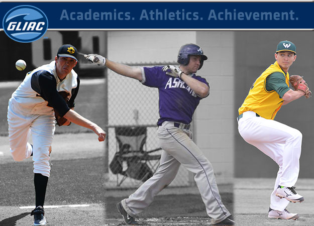 Ashland's Stephen James & Ohio Dominican's Ryan Colegate Headline 2015 GLIAC Baseball Postseason Awards