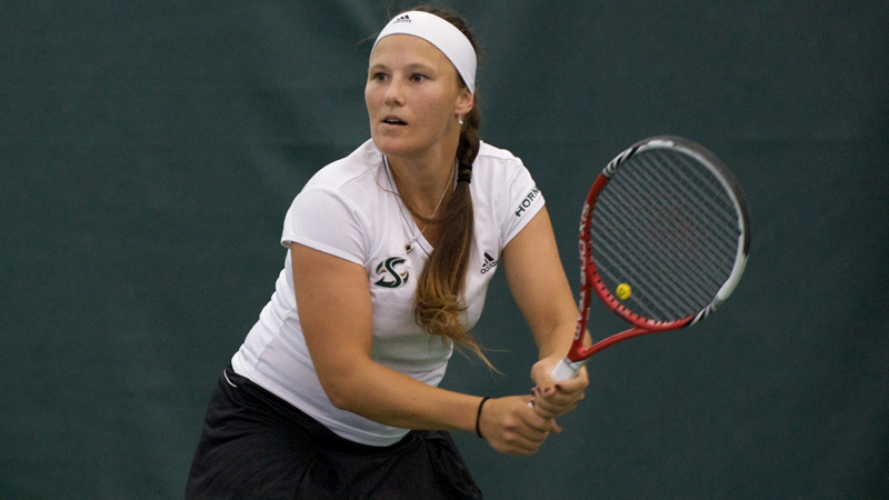 WOMEN'S TENNIS BETTERED BY No. 43 LONG BEACH STATE