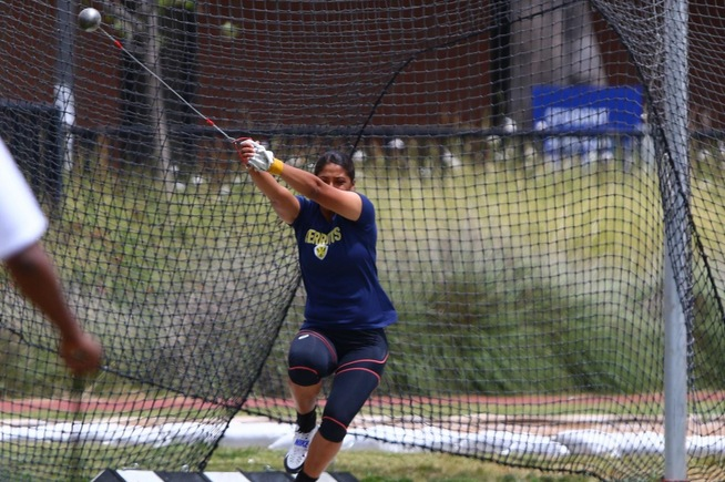 File Photo: Crystal Rodriguez placed second in the hammer at the SoCal Prelims