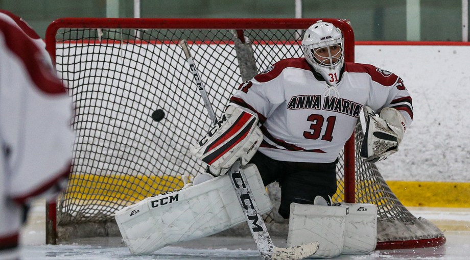Ohanesian Racks Up Sixty-Three Saves in Women's Hockey Loss