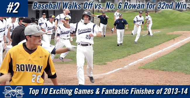 Top 10 Exciting Games of 2013-14 - #2 Baseball Walks Off vs. Rowan for 32nd Win