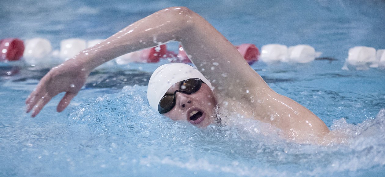 Men's Swimming and Diving Wraps Up Ithaca Invitational