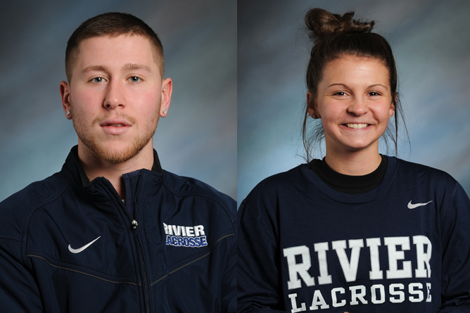 Graham, Wickens honored by the GNAC