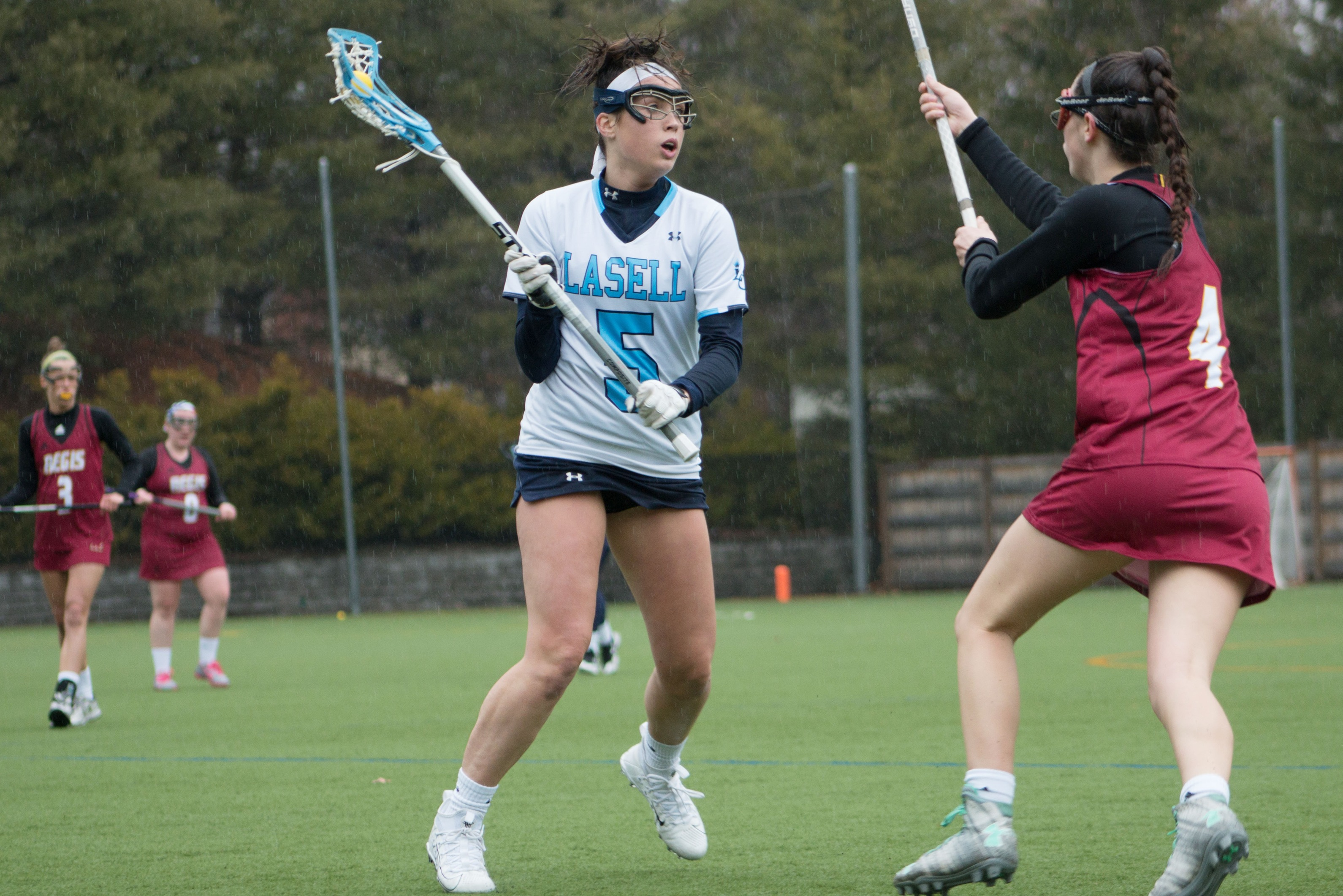 Lasell Women's Lacrosse downs Regis