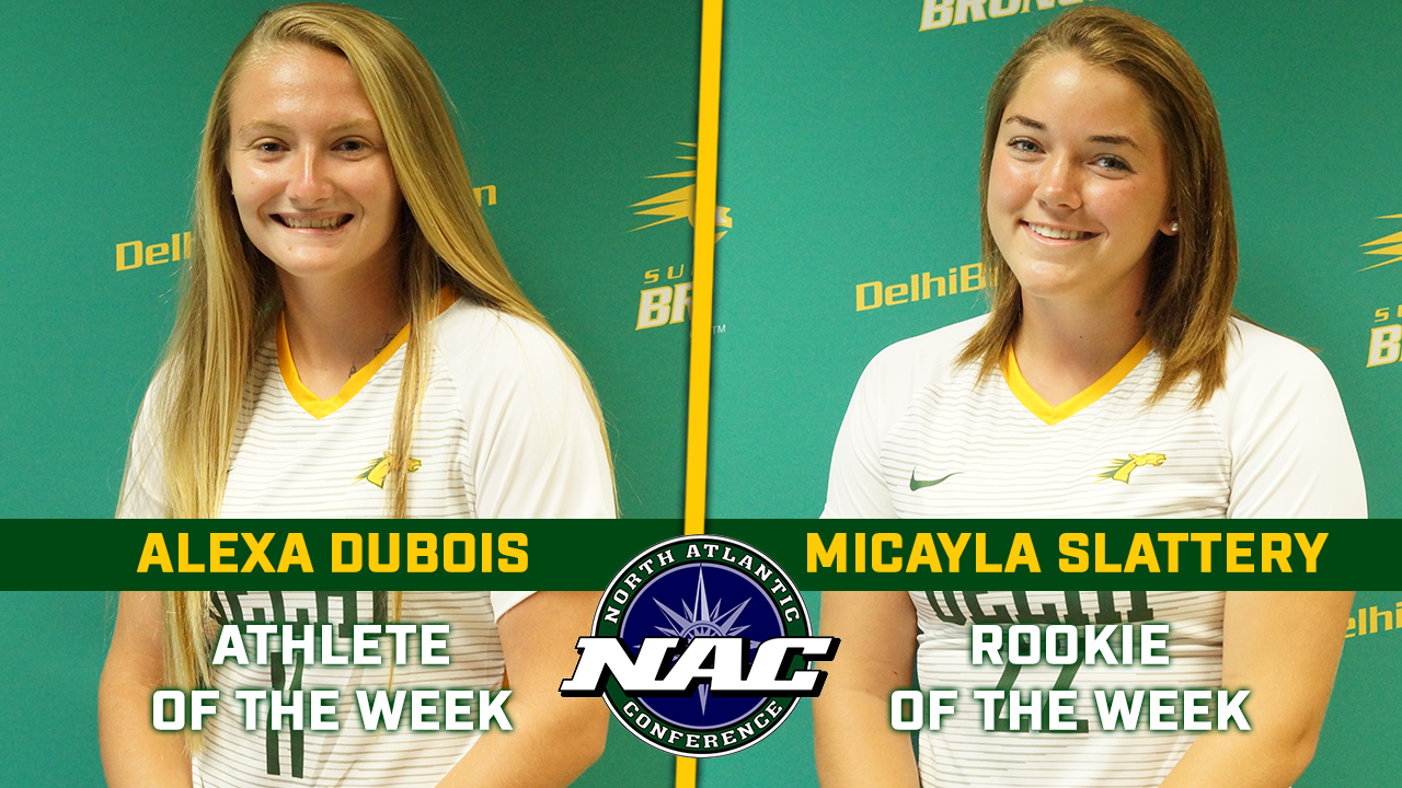 DuBois, Slattery Open Broncos Careers with NAC Weekly Honors