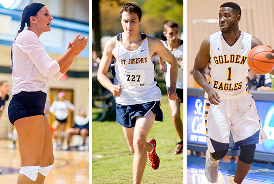 Bocchieri, Dachille and Laurent Earn Skyline Scholar-Athlete of the Year Honors