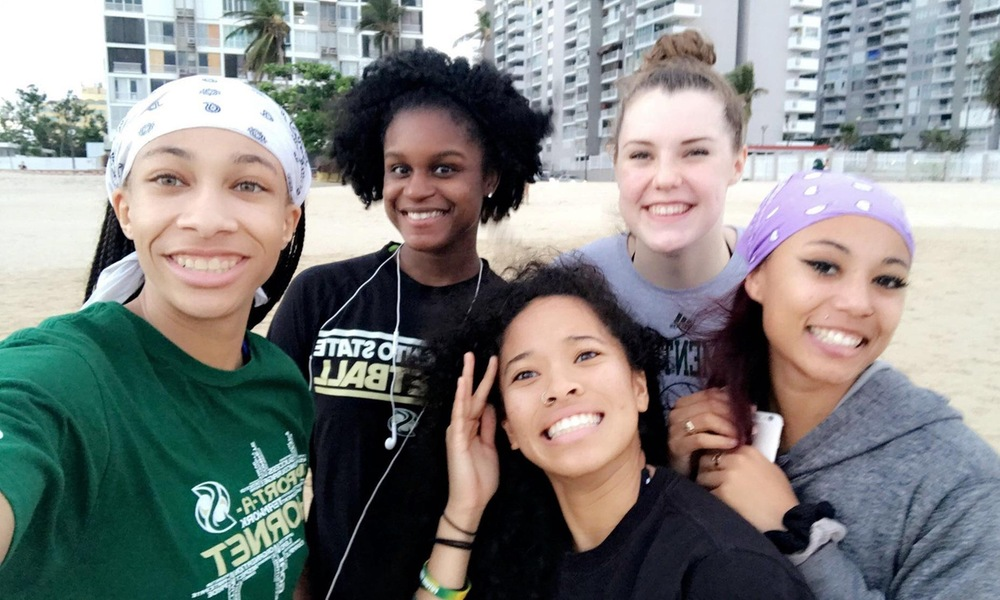 WOMEN'S BASKETBALL ARRIVES IN PUERTO RICO, DAY 1 PLAYER BLOG