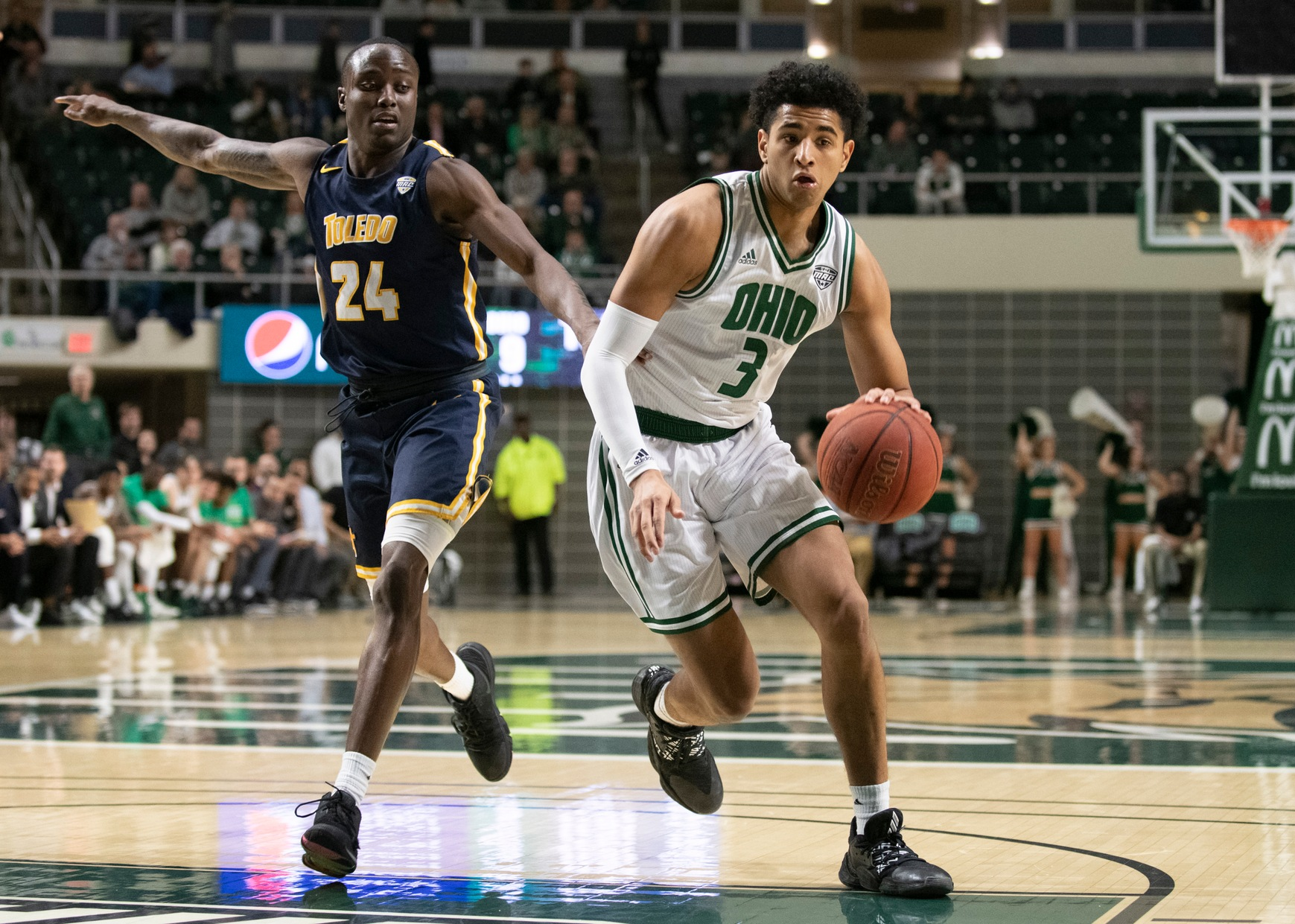 Ohio Men's Basketball Set to Host MAC East Rival Akron on Saturday