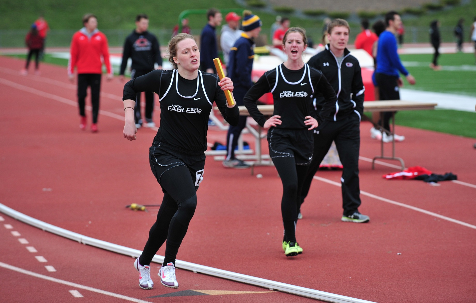 Track Team Sets New Personal Bests