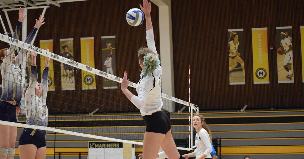 Volleyball Vaults to Fourth Place With Four Set Win over Yuba