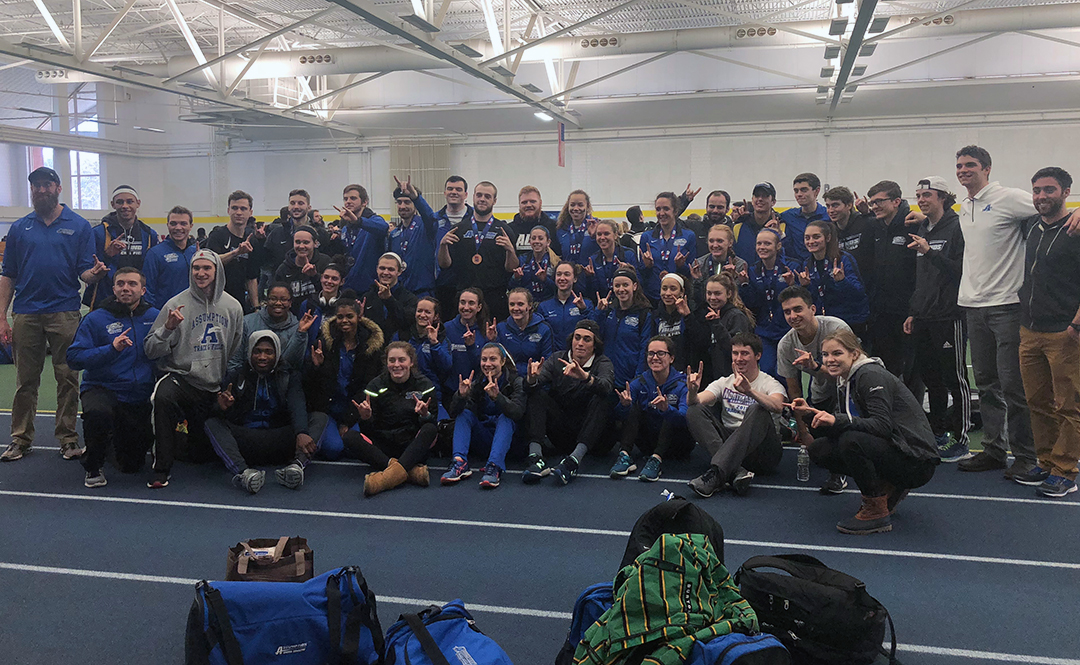 Men's Track & Field Finishes Fifth at NE10 Championship