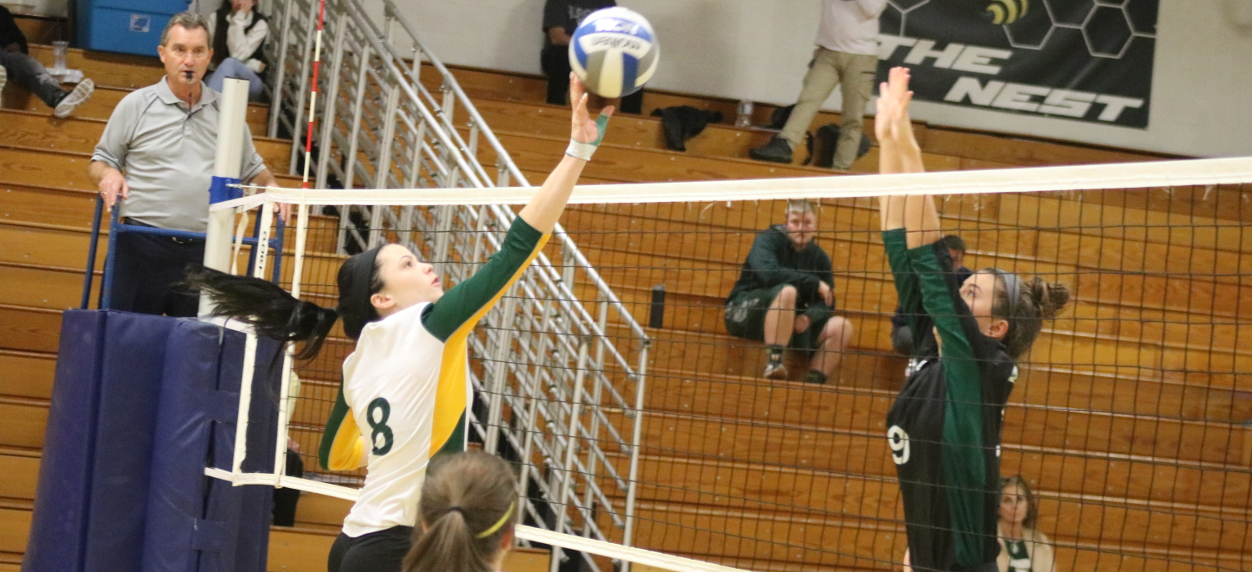Hornet volleyball drops contests to Maine Maritime and Husson on the first day of NAC play