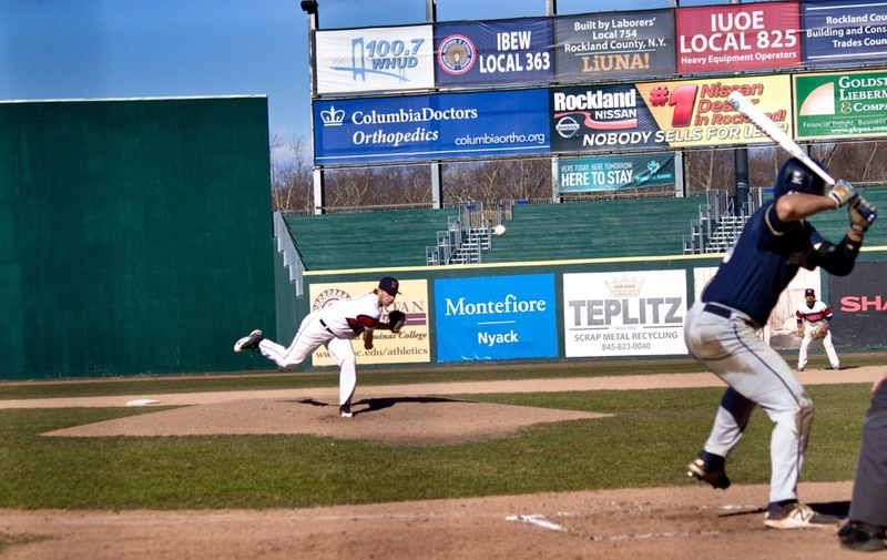 Nyack Baseball Falls to Pace University in Non-Conference Game