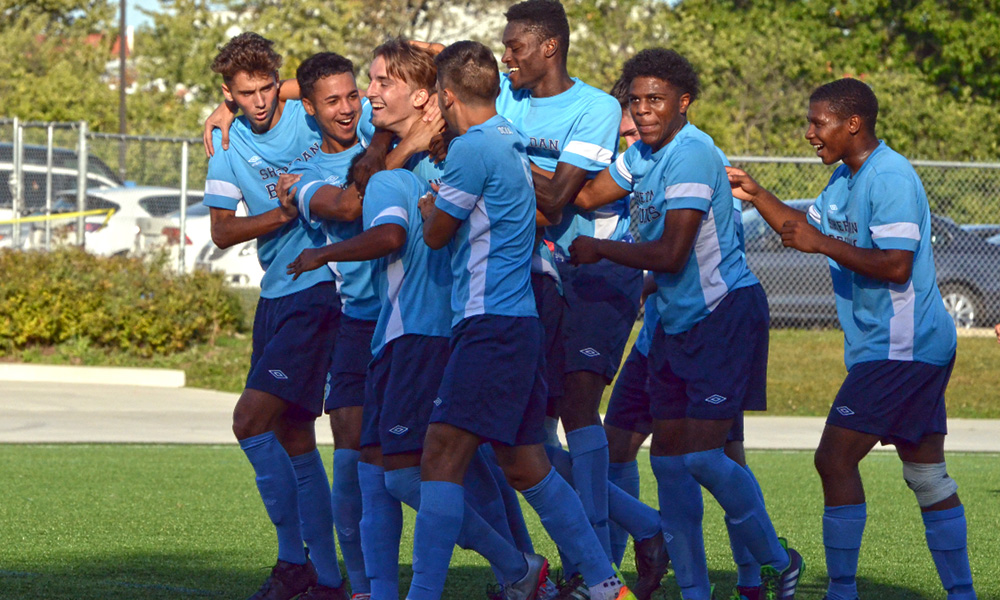 Early second half goals pushes men's soccer past UTM