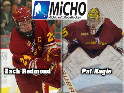 MichiganCollegeHockey.com Salutes Two Ferris State Skaters