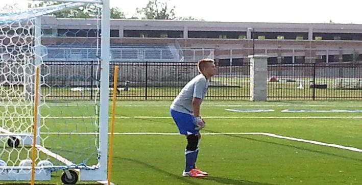 Goalie competition one to watch at Men's Soccer training camp