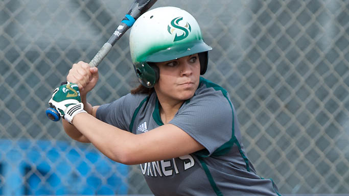 SOFTBALL CONCLUDES TOURNAMENT WITH 6-2 LOSS TO CAL POLY