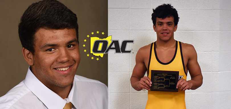 Arroyo Garners First Career OAC Wrestler of the Week Honor