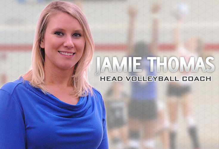 Volleyball: Jamie Thomas named as Panthers' new head coach