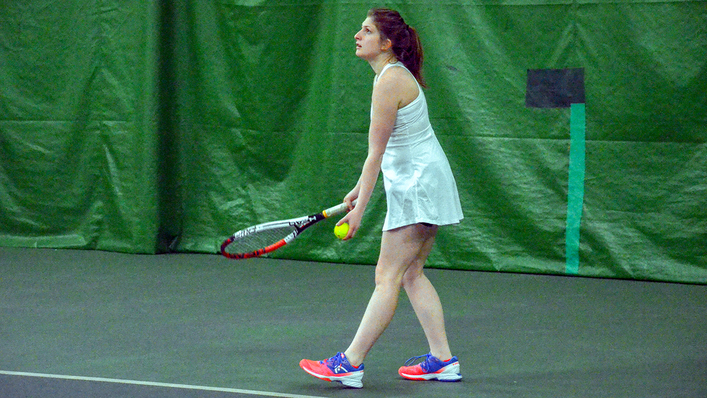 Women's tennis team starts spring schedule with 9-0 loss to Cornerstone