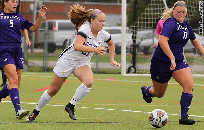 Women's Soccer Falls to American International College