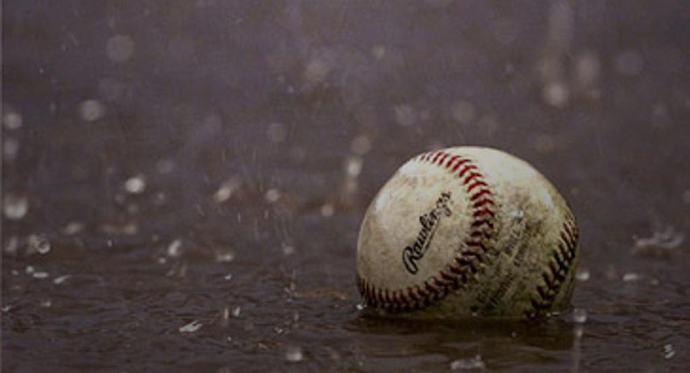 HAWKS/SAINTS GAME RAINED OUT ON SUNDAY