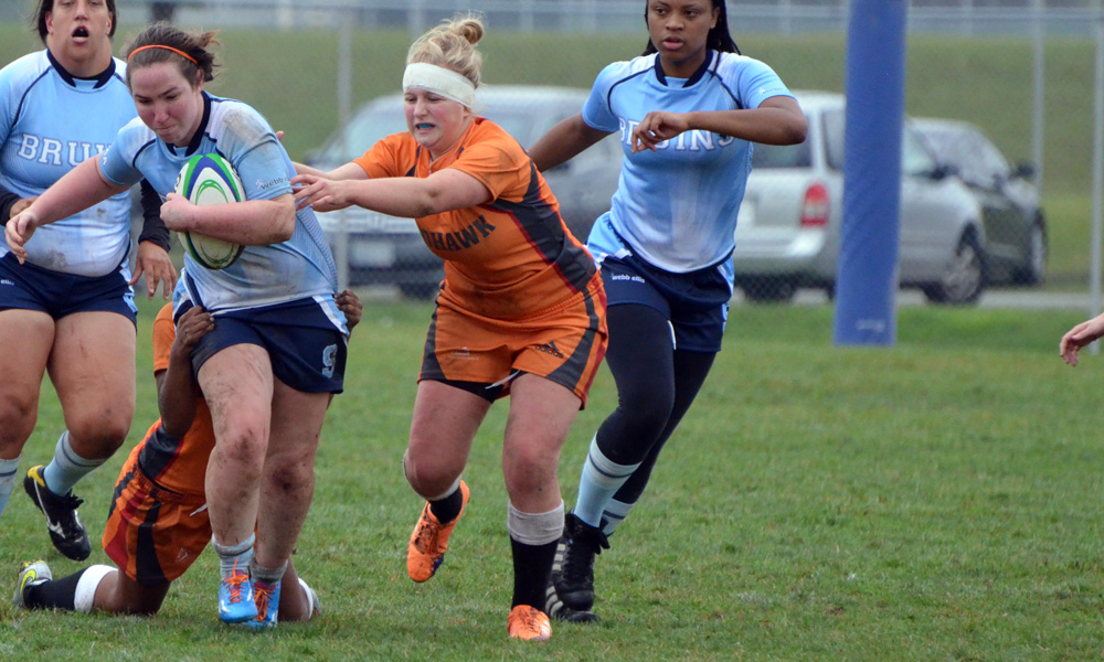 Women's rugby suffer setback in first sevens match day