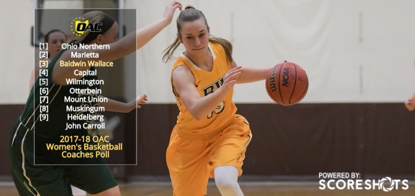 Junior All-OAC guard Hannah Fecht
