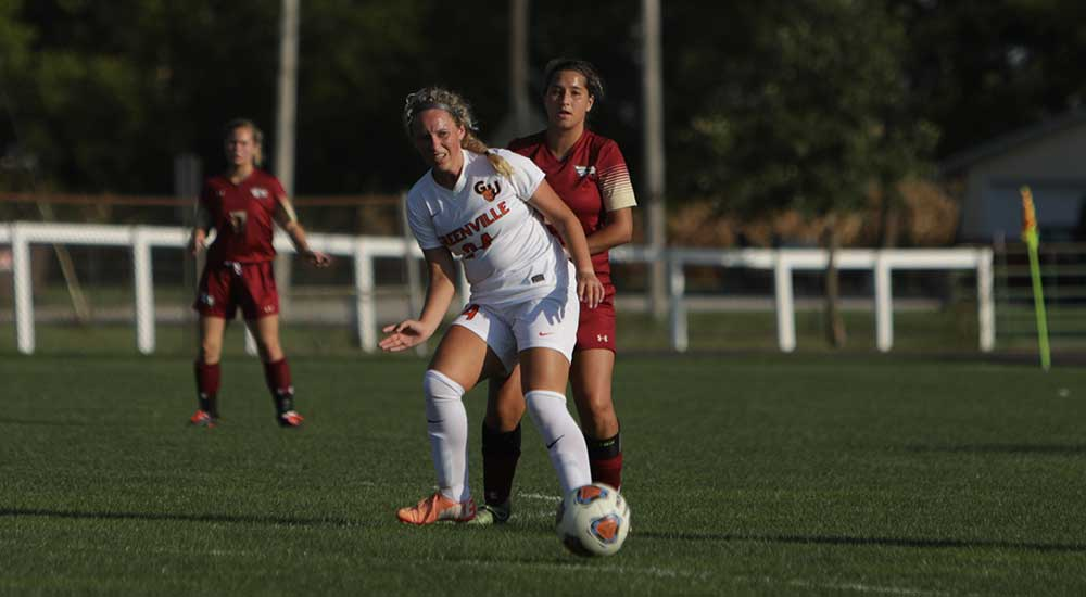 Women's soccer tops Millikin in shutout win