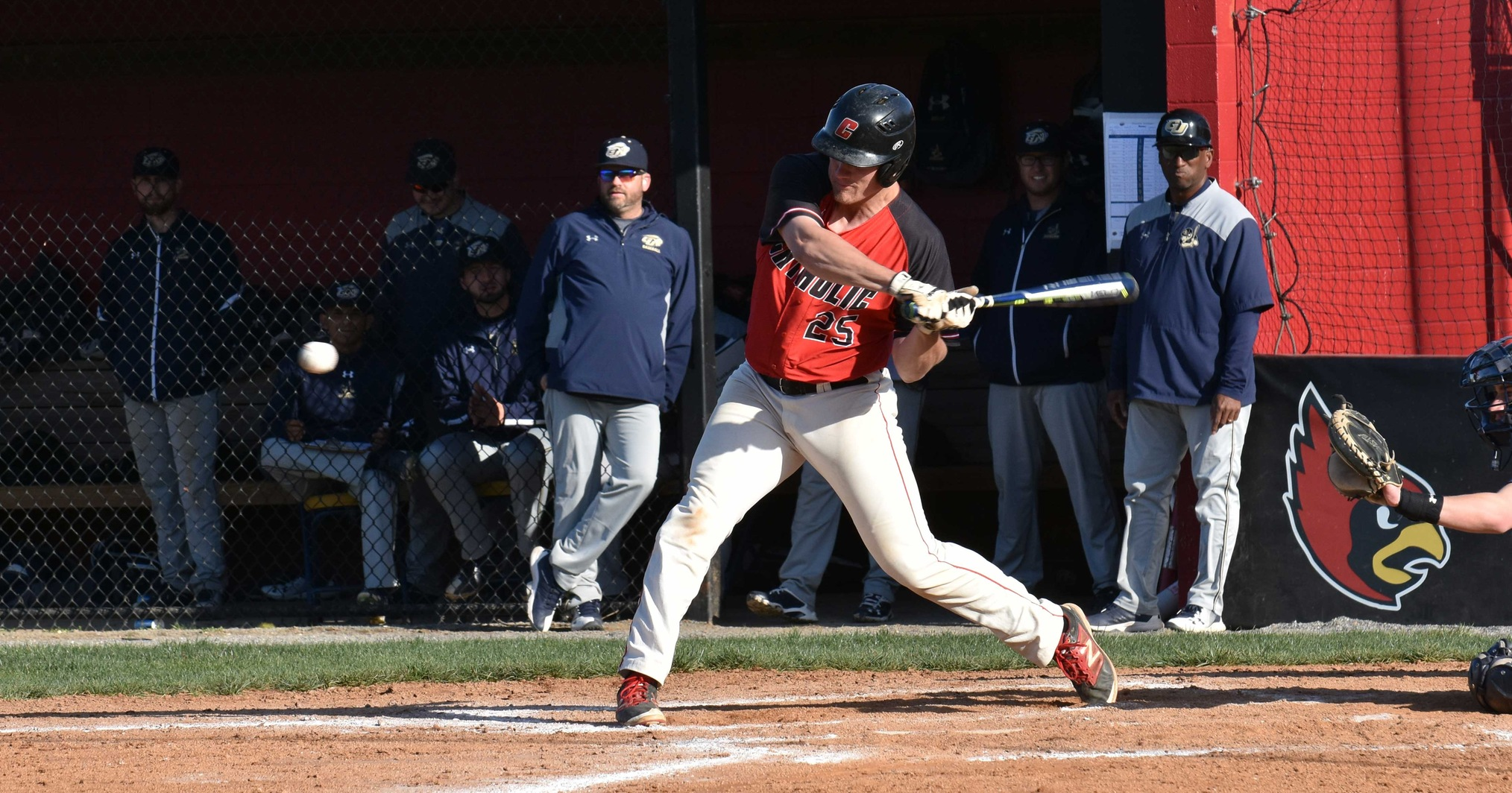 Cotter Hits Two Homers as Cardinals Fall to Blazers, 11-10