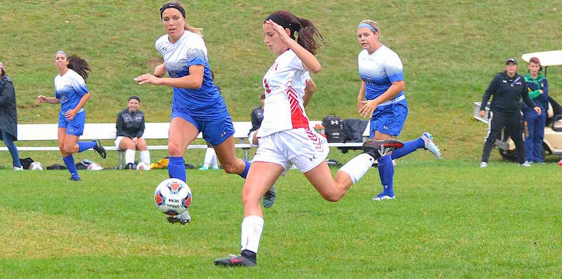 Bryn Athyn women's soccer file photo