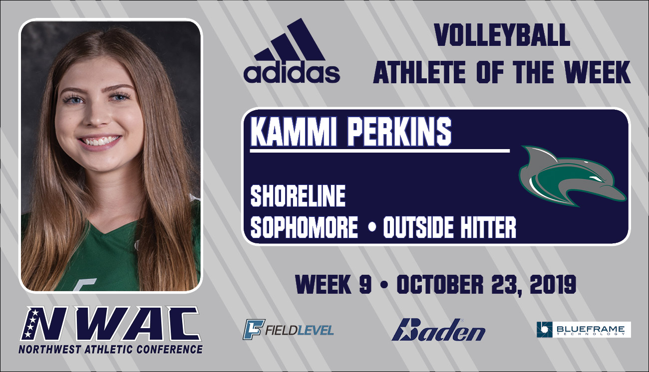 Adidas Athlete of the Week graphic for Kammi Perkins