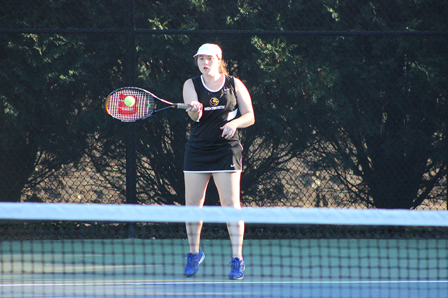 Women's Tennis Doubled up by Suffolk