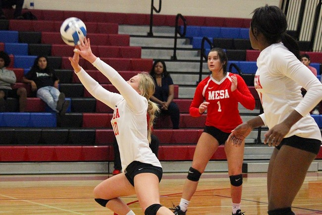 #9 Mesa Sweeps Pima in Three Close Sets
