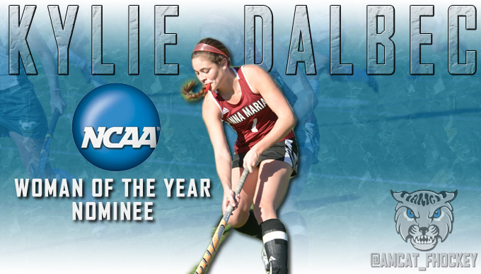 Dalbec a Nominee for NCAA Woman of the Year